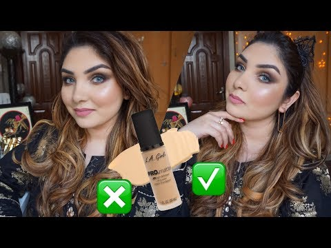 LA Girl Pro Matte HD Long Wear Matte Foundation