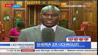 Yaliyoibuka kutokana na swala la mabadiliko katika sheria za uchaguzi