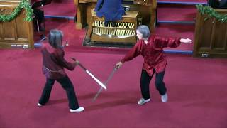 'Faces of Time' - Tai Chi in Performance