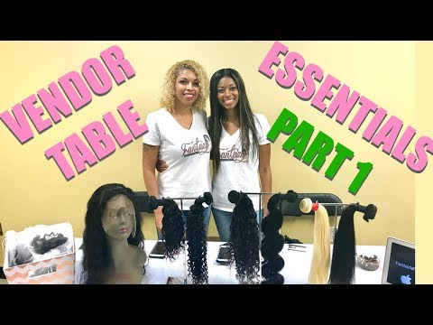 HAIR BUSINESS TIPS | PART 1: FINDING VENDOR EVENTS & VENDOR TABLE ESSENTIALS