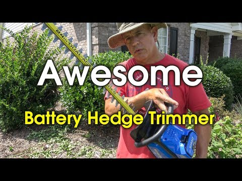 Kobalt Battery Hedge Trimmer Review