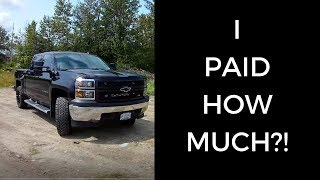 How Much I Paid to Customize My Truck