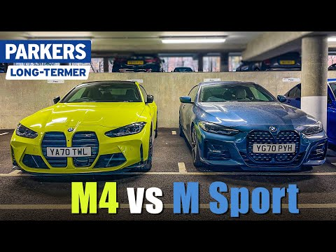 How does the new BMW M4 compare with my 420i M Sport long-termer? | Ep.2