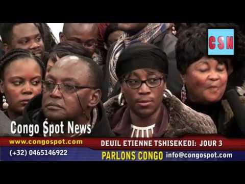 DEUIL E.TSHISEKEDI Jour3: Nono Lomboto, Babi Balukuna... réagissent!