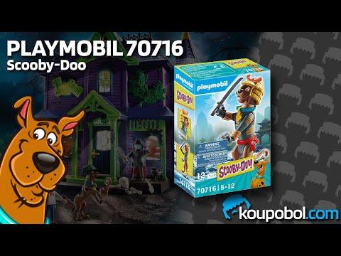 Vidéo PLAYMOBIL Scooby-Doo! 70716 : Scooby-Doo Samuraï