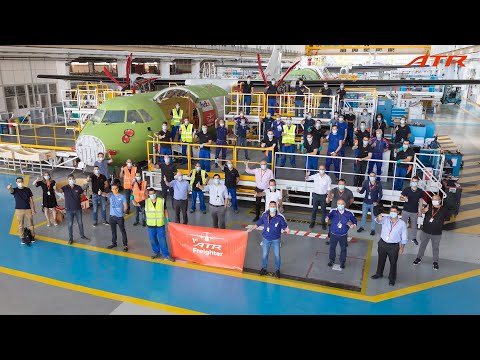 The ATR 72-600F: Born to Be a Freighter – Episode 1 – A Team's Achievement