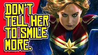 """Captain Marvel, Lady Thor Used to Attack """"TROLLS"""" by Marvel Comics?"""