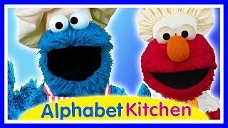 Seasame Street Alphabet Kitchen App - Cookie Monster & Elmo - Educational Kids Games