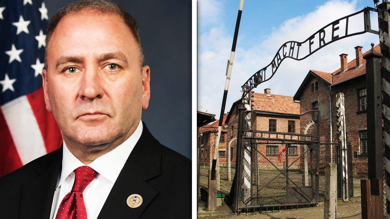 Republican Regrets Auschwitz Gas Chamber Video thumbnail