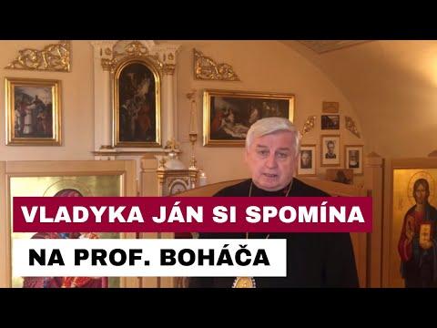 KONDOLENCIA VLADYKU JÁNA BABJAKA SJ K ÚMRTIU PROF. VOJTECHA BOHÁČA