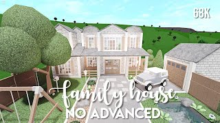 No Advanced Placement Family House   Bloxburg Speedbuild