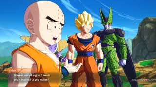 Dragon Ball FighterZ - Cell Roasts Android 16 & Krillin Is An Idiot