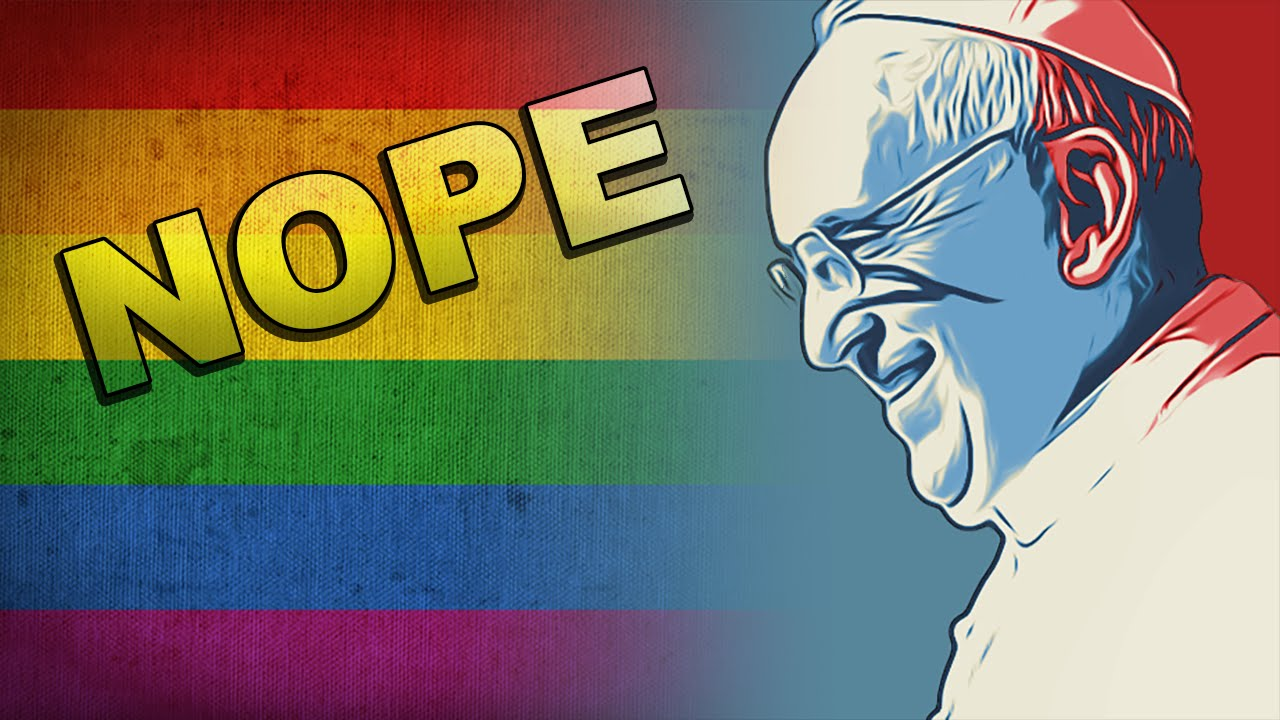 Pope & God Overruled By Gay-Hating Bishops thumbnail
