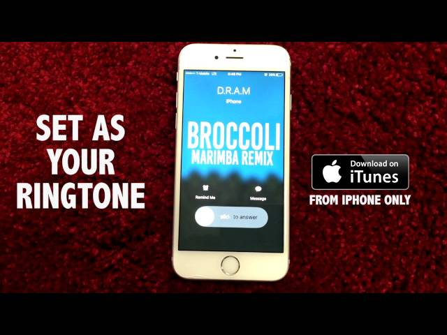 iphone marimba remix d r a m feat lil yachty broccoli marimba remix ringtone 12022