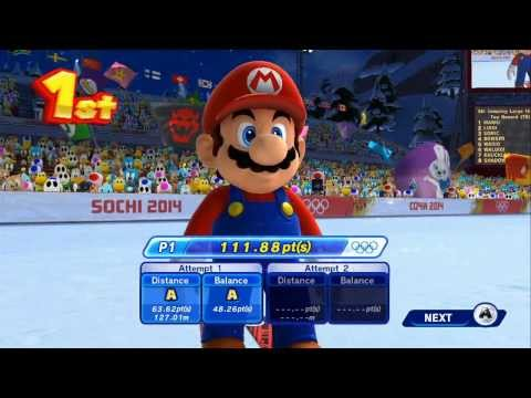 Видео № 1 из игры Mario and Sonic at the Sochi 2014: Olympic Winter Games [Wii U]