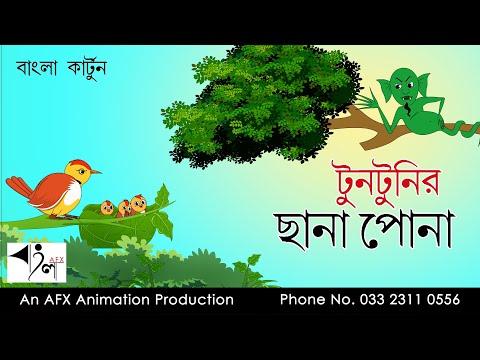 Tuntunir Chana Pona | বাংলা কার্টুন| Thakurmar Jhuli