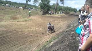 preview picture of video 'Międzynarodowe Motocrossowe Mistrzostwa Polski Strefy Północnej Lipno 2013 cz.2'