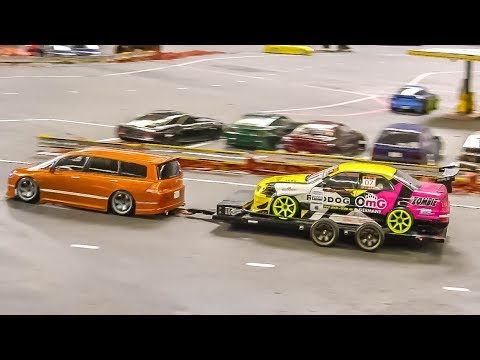 MEGA RC Drift Car Action! Awesome R/C Drift Cars!