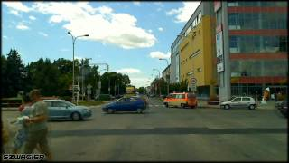 preview picture of video '222 - Slovakia - Hungary. 64 / 13 - Komárno - Komárom. Border Crossing [HD]'