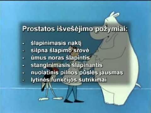 Massager prostatos adenomos