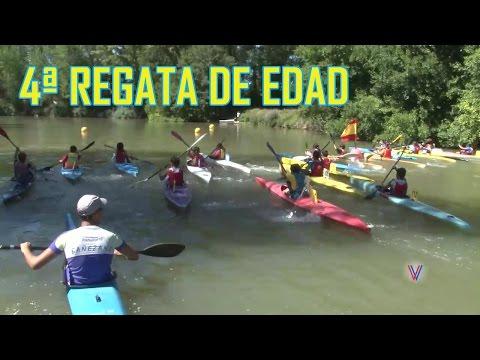 200 participantes en el Campeonato Regional de Edad de Piraguismo