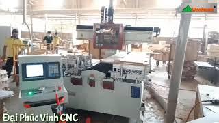 Máy Phay Mộng Âm, Khoan, Chạy Rãnh Đa Năng Woodmaster WM-1500-3CNC
