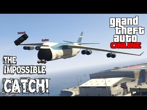 GTA Cargo: Check Out This Awesome Mid-air Cargo Plane Catch By GTAmissions.