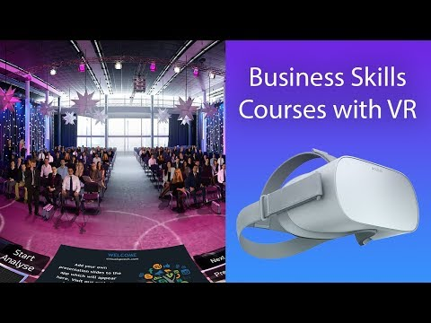 VirtualSpeech - Improve business skills with VR courses - YouTube
