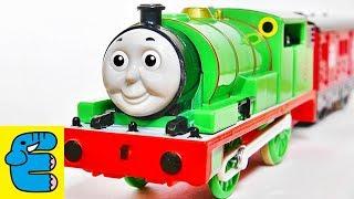 プラレールトーマス おしゃべりパーシー改造 Plarail Thomas Upgrade Talking Percy [English Subs]
