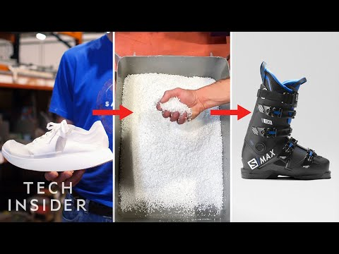 Recycling Old Shoes Into New Ski Boots