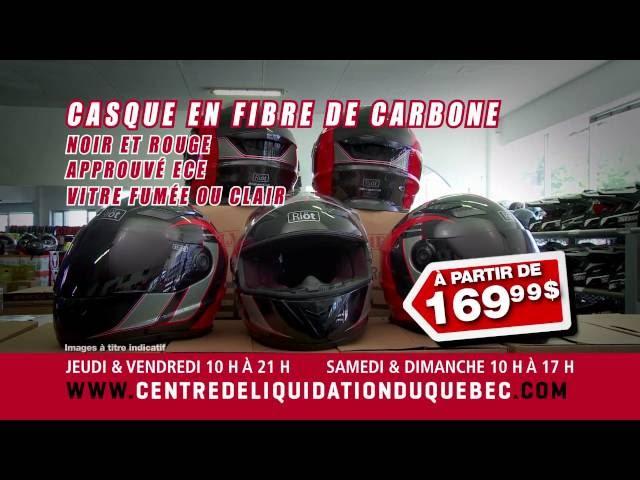 Promotions – Casque de moto hiver – Centre de Liquidation du Québec