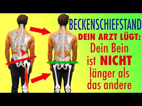 Die Massage bei der Skoliose in jutube