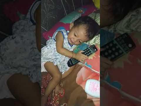 anak cantik kena mainan remot | ayesha Azkadina