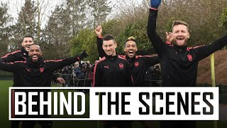 Who is the fastest at Arsenal? | Behind the scenes