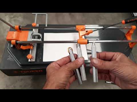 Como funciona y se trabaja un cortador de azulejo ó baldosa.