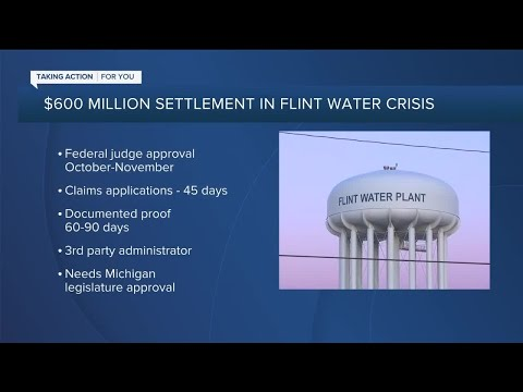 $600 million settlement to be issued in Flint Water Crisis lawsuits