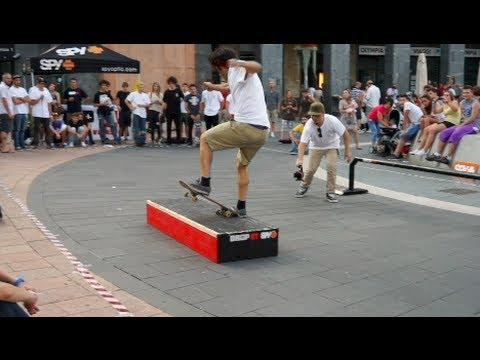 Primo skate contest in centro a Varese