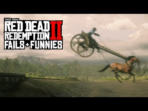 Red Dead Redemption 2 - Fails & Funnies #88