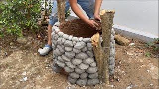 Потрясающие идеи из цемента и глины.