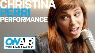 Christina Perri 'Human' Acoustic | Performance | On Air with Ryan Seacrest