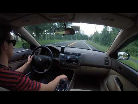 Modified 2004 Honda Civic Backroad Run