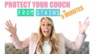 How to Scotch Gard Your Couch