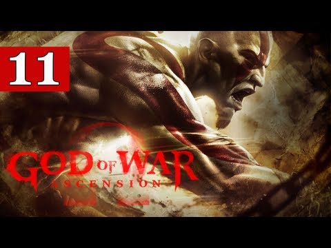 God of War Ascension Gameplay Walkthrough - Part 11 - Scorpion Dragon Boss - Lets Play Commentary