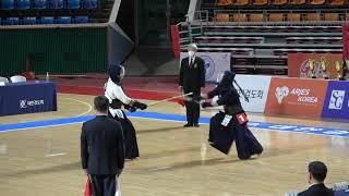 결승 배환진 vs 정준호 [2021 검도왕 일반부 | 검도V]