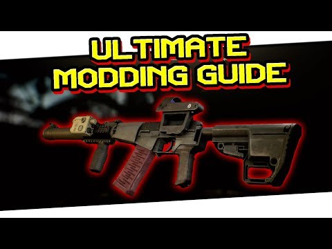 GUN MODDING GUIDE EP  2 | M4 MODDING & SMILEY LASER | Escape