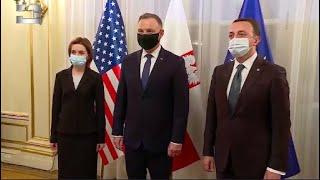 გაეროს გენეარალური ასამბლეის 76-ე სესიის ფარგლებში, საქართველოს პრემიერი, თურქეთის პრეზიდენტს შეხვდა