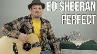 Perfect   Ed Sheeran  Guitar Tutorial (Picking & Strumming) How To Play Easy Songs