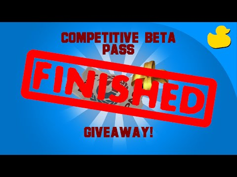 Competitive matchmaking beta pass how to use
