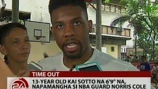 24 Oras: 13 year old Kai Sotto na 6'9