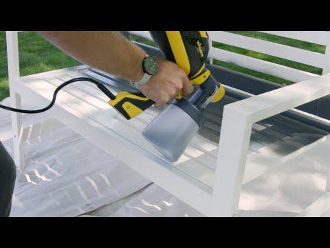 Wagner FLEXiO 3000 Paint Sprayer ESPANOL Video